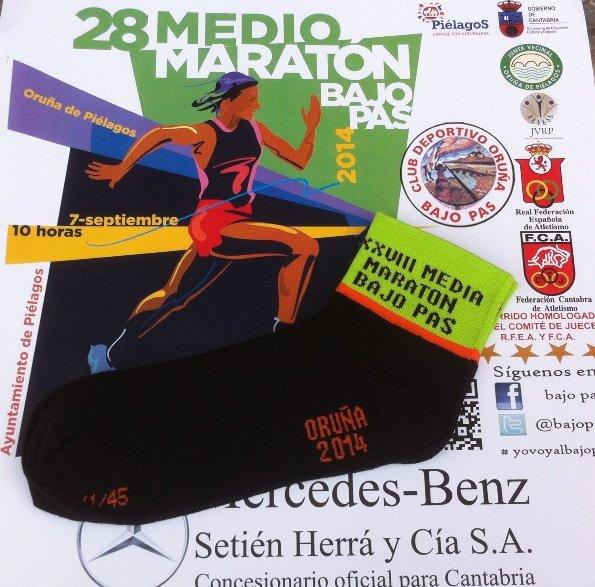 Calcetines para los participantes