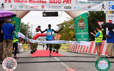 Josphat Kiprono e Irene Pelayo vencen en el 32 Medio Maratón Bajo Pas