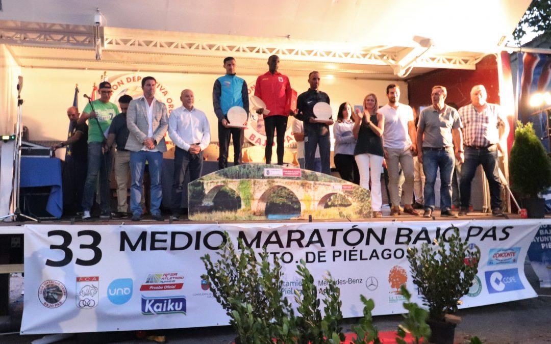 Isaac Kiptum y Mónica Gutiérrez vencen el 33 Medio Maratón Bajo Pas