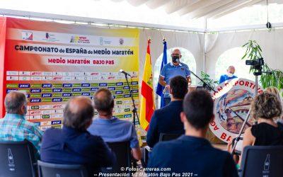 Presentado el Campeonato de España de medio maratón que se disputará en Oruña