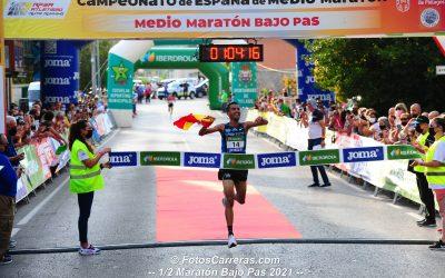 Lugueros y Merzougui, nuevos campeones de España de Medio Maratón